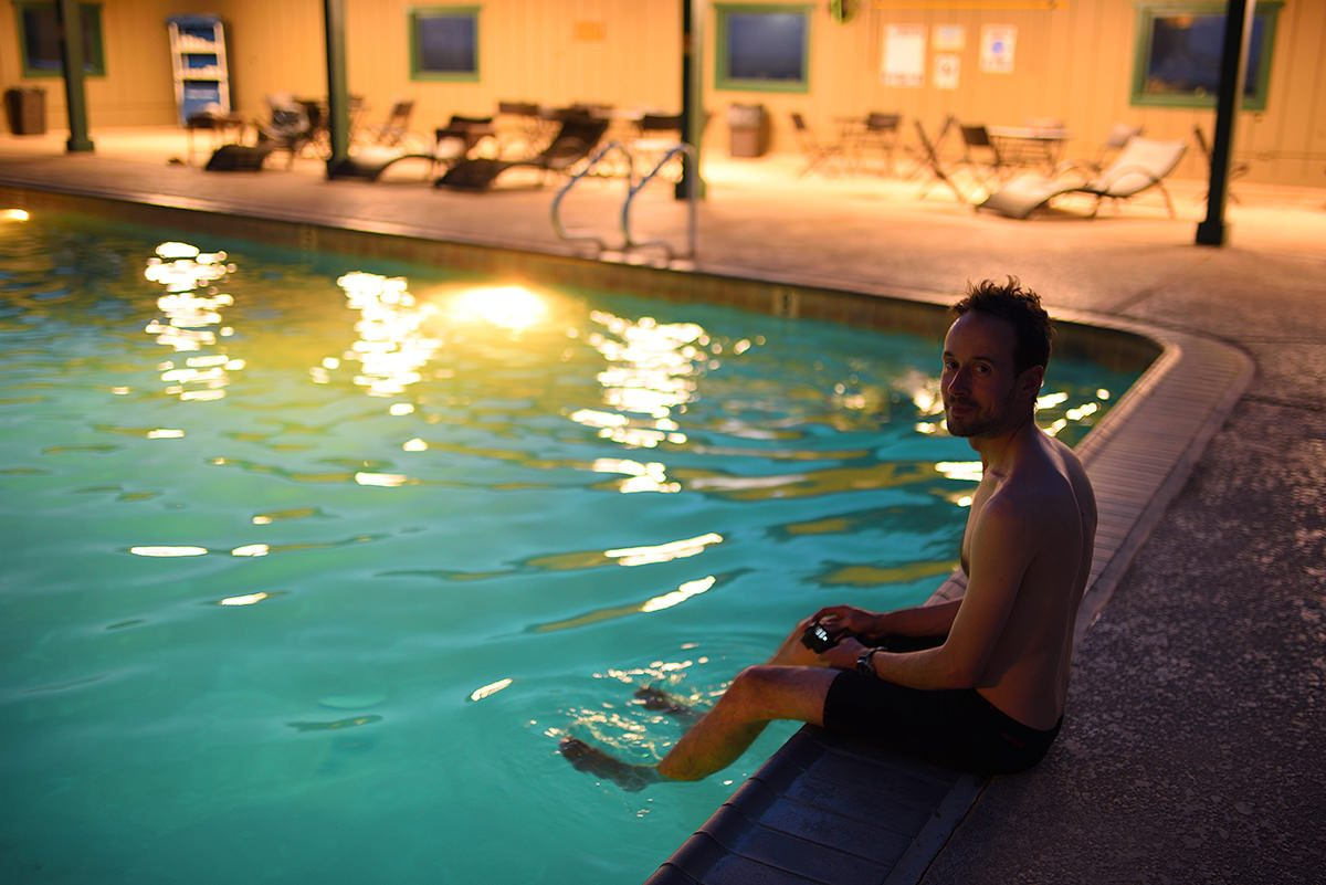 Stovepipe Wells Village Hotel swimming pool